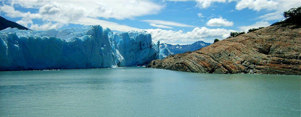 Roche du glacier Perito Moreno
