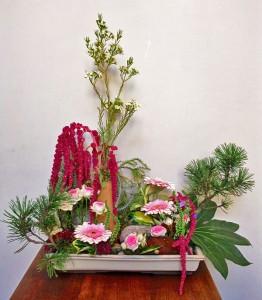 Jardin japonais - Composition