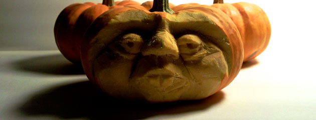 Courge haloween