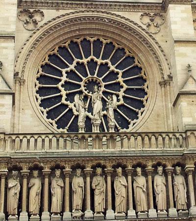 Rose de Notre-Dame de Paris