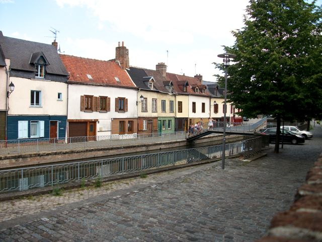 Canal à Amiens