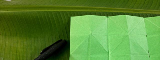 origami-sur-feuille