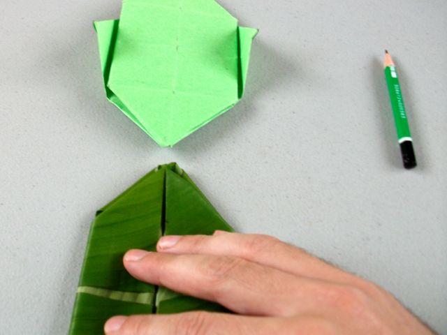 L 39 exp rience rat e de la semaine faire un origami avec - Faire une enveloppe avec une feuille ...