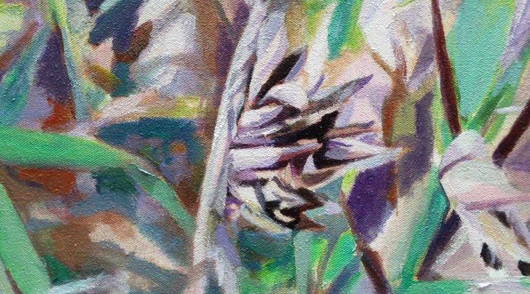 Bambou en peinture
