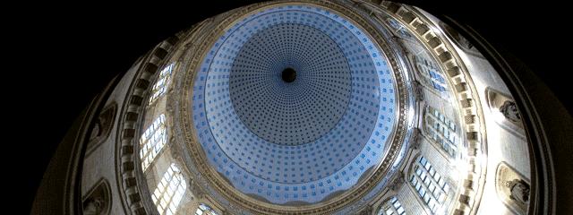 Le dôme de la basilique