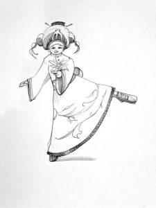 Danse kimono